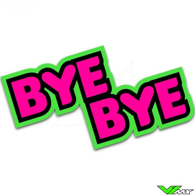 Bye Bye butt patch