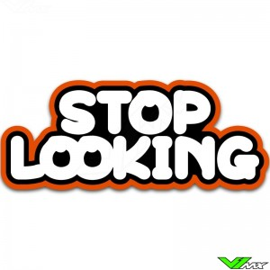 Stop Looking - butt patch