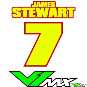 Style 02 - Motorcross shirt bedrukken (Naam + nummer)