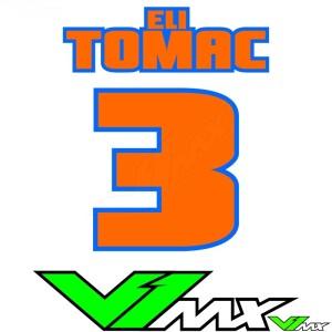 Style 05 - Motorcross shirt bedrukken (Naam + nummer)