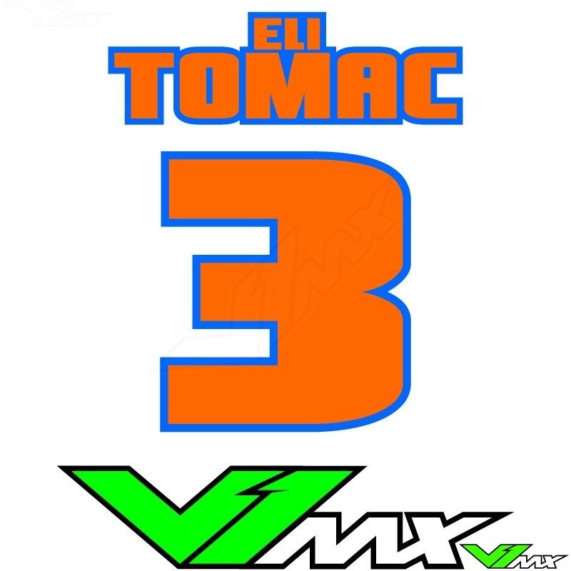 Style 05 - MX jersey ID printing (name + number)