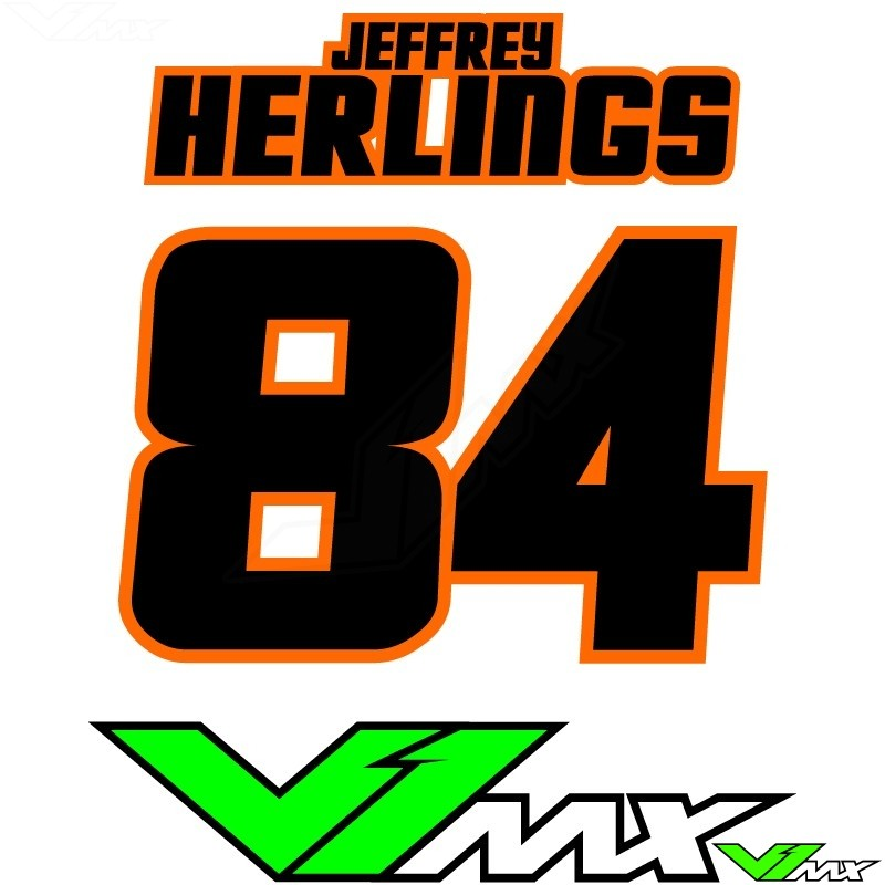 Style 06 - MX jersey ID printing (name + number)