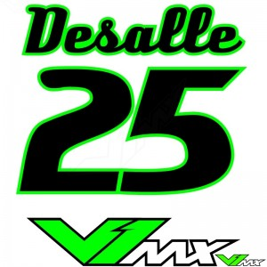 Style 04 - Motorcross shirt bedrukken (Naam + nummer)