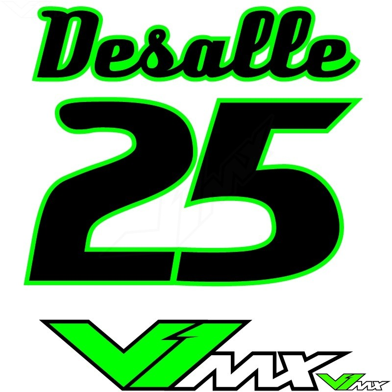 Style 04 - MX jersey ID printing (name + number)