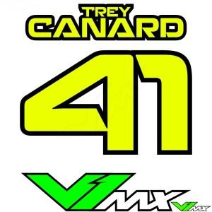 Style 09 - Motorcross shirt bedrukken (Naam + nummer)
