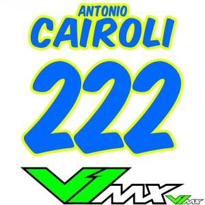 Style 08 - Motorcross shirt bedrukken (Naam + nummer)