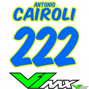 Style 08 - MX jersey ID printing (name + number)