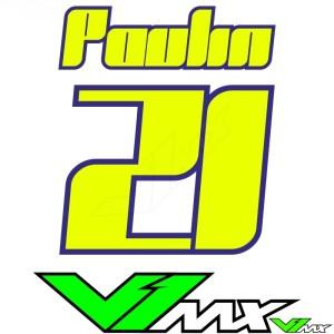 Style 13 - Motorcross shirt bedrukken (Naam + nummer)