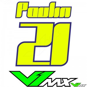 Style 13 - MX jersey ID printing (name + number)