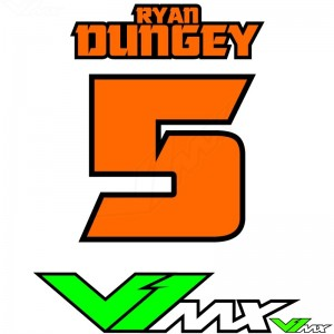 Style 12 - MX jersey ID printing (name + number)