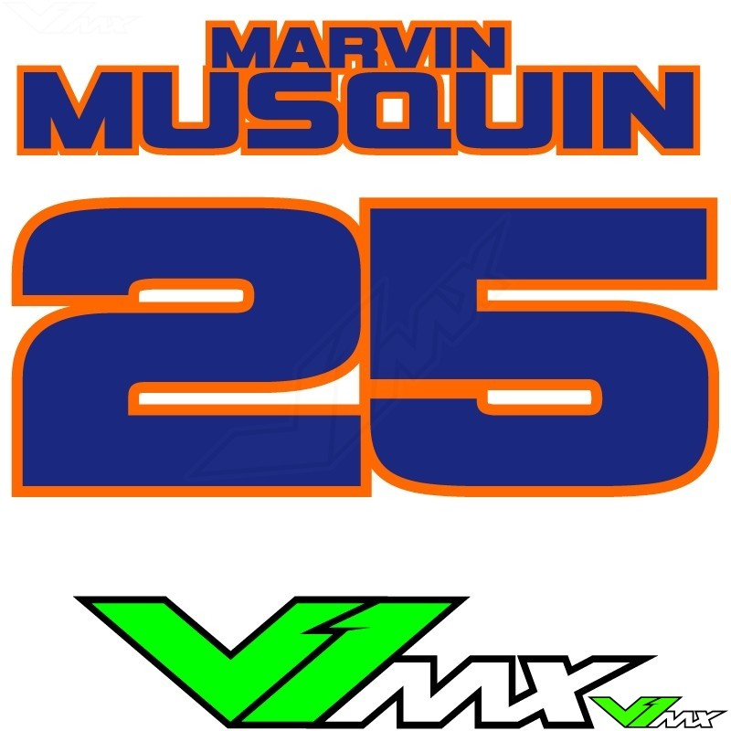 Style 11 - MX jersey ID printing (name + number)