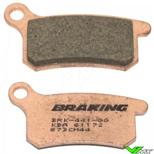 Remblokken Voor/Achter Braking - KTM 65SX 85SX 105SX