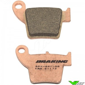 Brake pads Front/Rear Braking (Race) - Honda CR125 CR250 CRF150R CRF250R CRF250X CRF450R CRF450X TM MX85