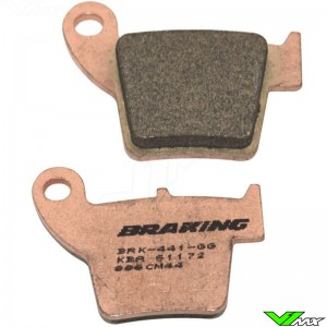 Remblokken Achter Braking - Honda CR125 CR250 CRF150R CRF250R CRF250X CRF450R CRF450X