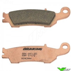 Brake pads Front Braking - Yamaha WR450F YZ125 YZ250 YZ250X YZF250 YZF450