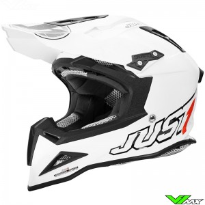 Just 1 J12 Helmet Solid White