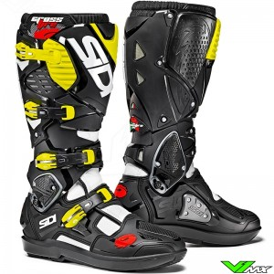 Sidi Crossfire 3 SRS Boots Black / Yellow