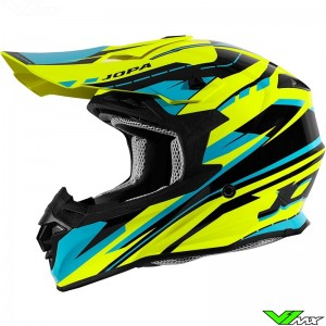 Jopa Hunter Revolt Helmet Fluo Yellow / Blue