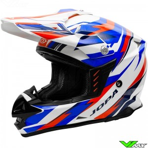 Jopa Locust II Scrum Helmet Red / Blue