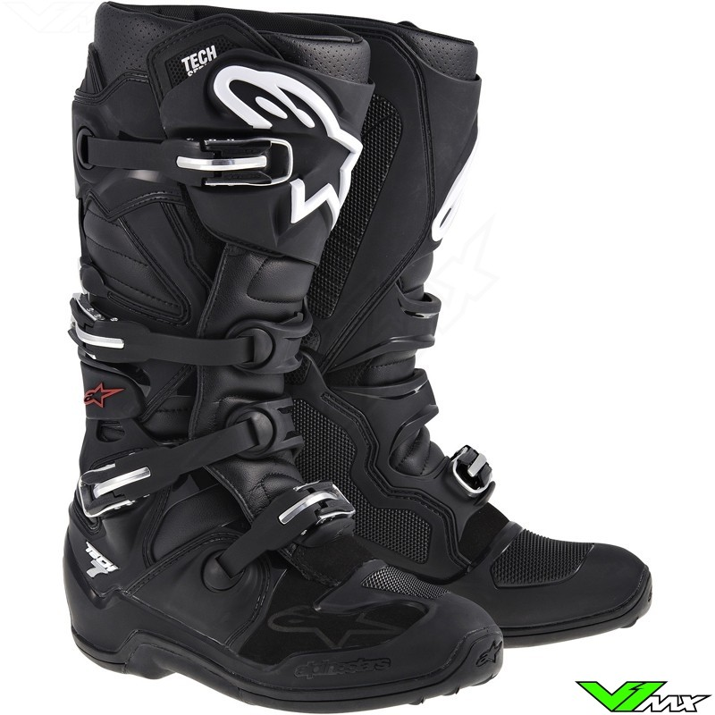 Alpinestars Tech 7 MX Boots Black