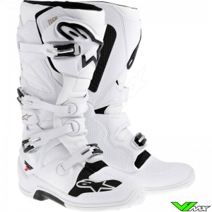 Alpinestars Tech 7 Crosslaarzen Wit