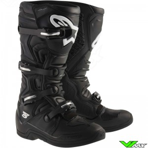 Alpinestars Tech 5 MX Boots Black