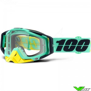 100% Racecraft Crossbril Kloog - Clear Lens