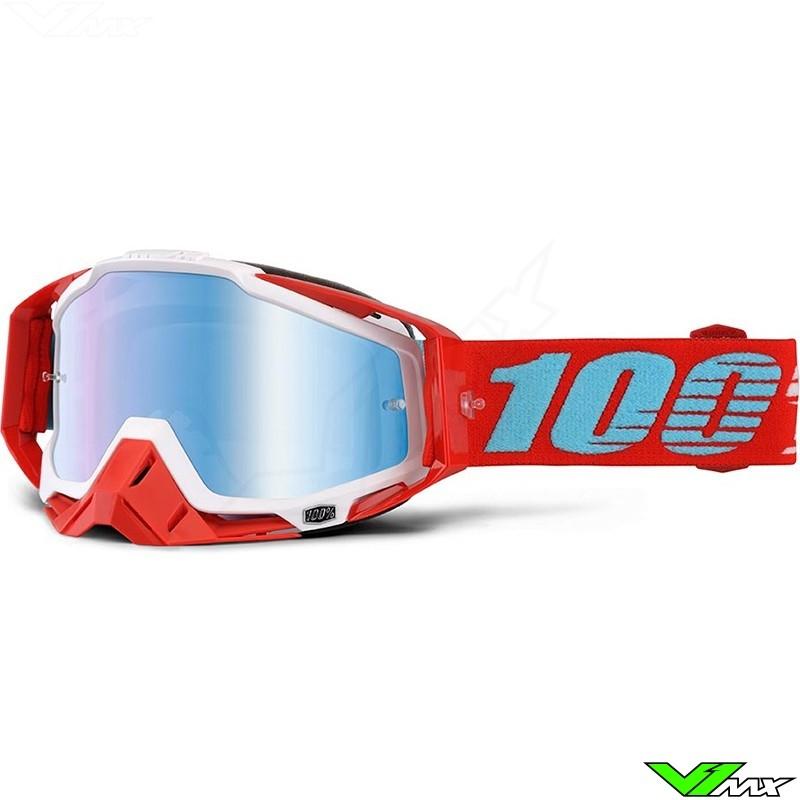100% Racecraft Crossbril Kepler - Mirror Lens