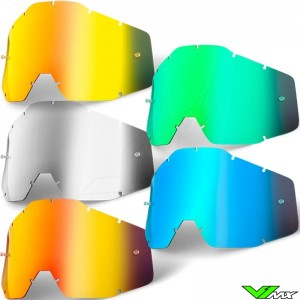 100% Racecraft / Accuri / Strata Mirror Lens