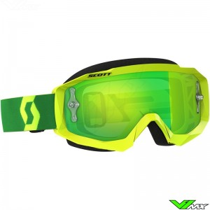 Scott Hustle MX goggle Yellow / Green