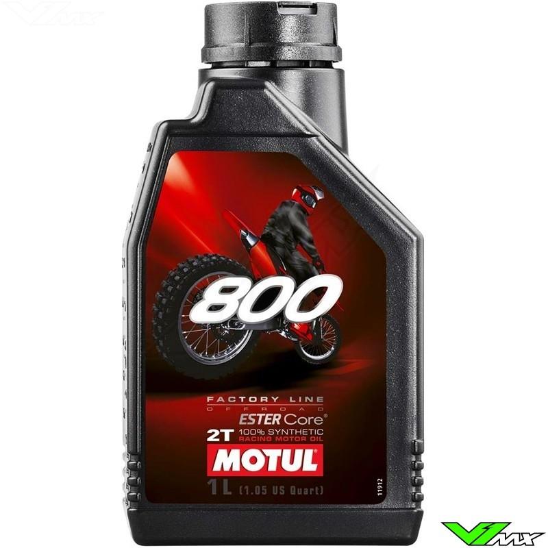 Motul 800 2T Factory olie - 1 Liter