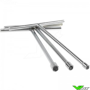 Long reach steel T-bars