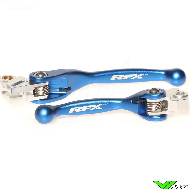 RFX Flexible clutch and brake lever set - Yamaha YZ125 YZ250 YZF250 YZF426 YZF450 Kawasaki KXF250 KXF450