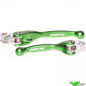 RFX Flexible clutch and brake lever set - Yamaha YZ125 YZ250 YZF250 YZF426 YZF450 Kawasaki KXF250 KXF450