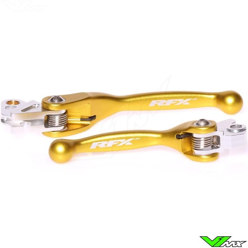 RFX Flexibele koppeling en rem hendel set - Suzuki RM85 RM125 RM250 RMZ250 RMZ450