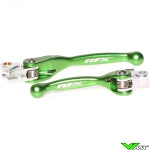 RFX Flexibele koppeling en rem hendel set - Yamaha YZ125 YZ250 YZF250 YZF450 Kawasaki KXF250 KXF450