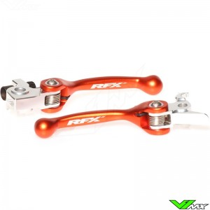RFX Flexible clutch and brake lever set - KTM 250/400/450/500/525/530EXC 250/300/525SX 250/350EXC-F 250/350/450SX-F