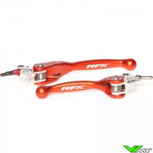 RFX Flexible clutch and brake lever set - KTM 65SX