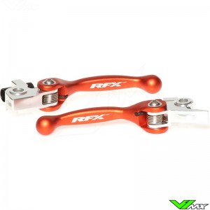 RFX Flexible clutch and brake lever set - KTM 250EXC 250SX 250EXC-F 250SX-F 350EXC-F 350SX-F 450EXC 450SX-F 500EXC