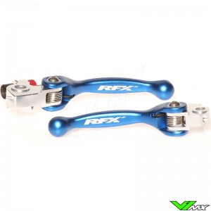 RFX Flexible clutch and brake lever set - TM MX125 MX250 MX250FI MX450FI Beta RR2502T RR3002T RR3504T RR4504T
