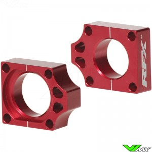 RFX Rear Axel Adjuster Blocks - Honda CR125 CR250 CRF250R CRF450R CRF250X CRF250RX CRF450X CRF450RX