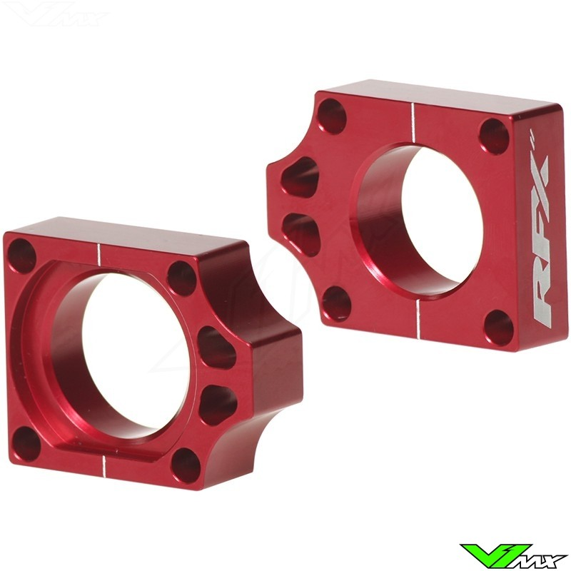RFX Rear Axel Adjuster Blocks - Honda CR125 CR250 CRF250 CRF450 CRF250X CRF450X