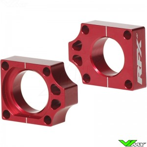 RFX Rear Axel Adjuster Blocks - Honda CRF250R CRF450R