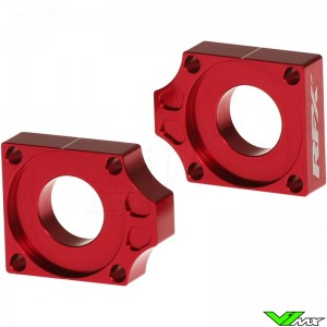 RFX Rear Axel Adjuster Blocks - Honda CRF150R