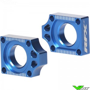 RFX Rear Axel Adjuster Blocks - Yamaha YZ125 YZ250 YZF250 YZF400 YZF426 YZF450