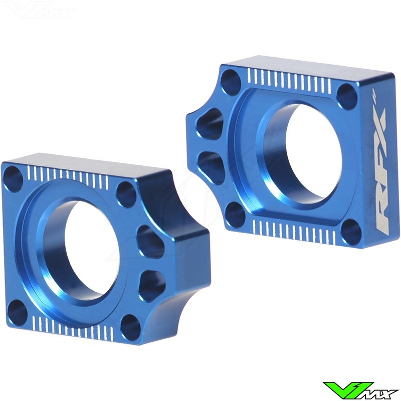 RFX Rear Axel Adjuster Blocks - Yamaha YZ125 YZ250 YZF250 YZF426 YZF450