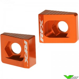 RFX Rear Axel Adjuster Blocks - KTM 65SX