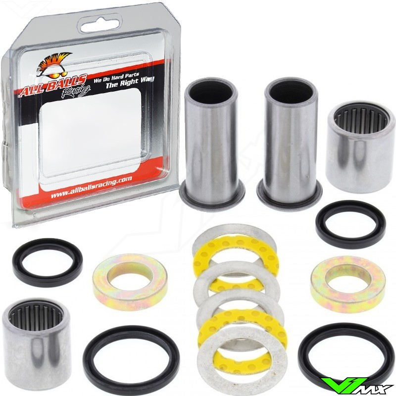 All Balls Achterbrug lagerset - Kawasaki KLX400 Suzuki RM125 RM250 RMZ250 RMZ450 RMX450Z DRZ400