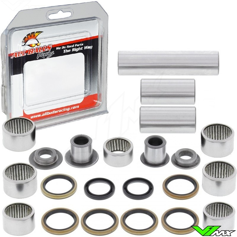 All Balls Linkage Bearing Kit - Kawasaki KX125 KX250 KXF250 Suzuki RMZ250