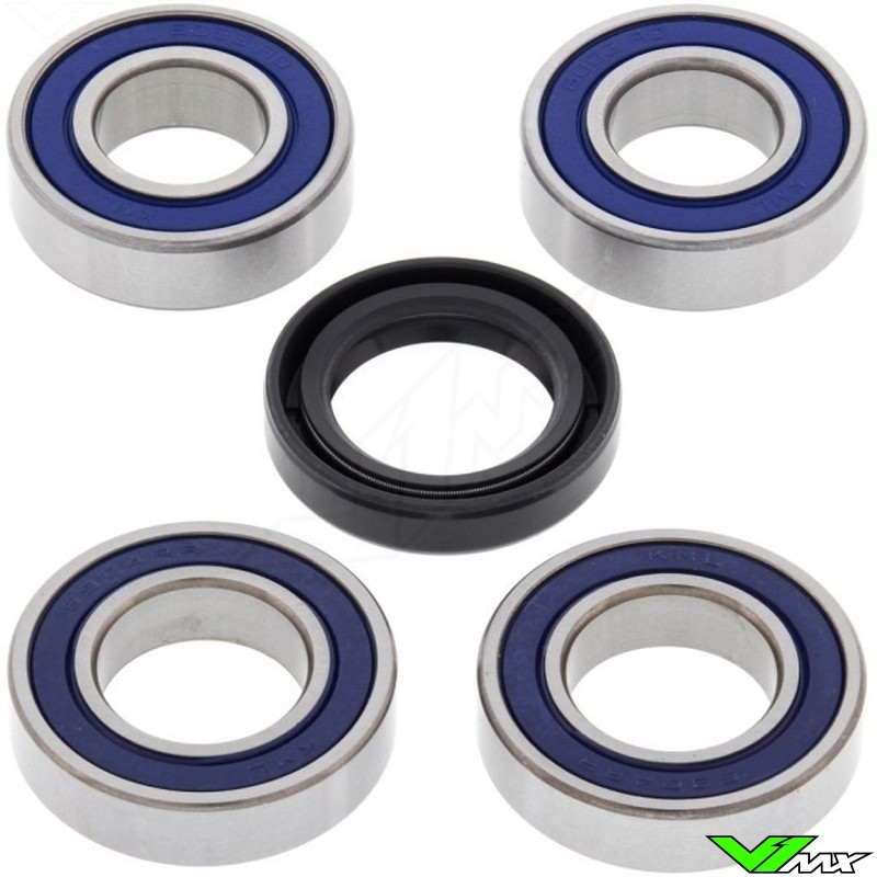 All Balls Voorwiel lagerset - Suzuki RMX250 DR650SE DRZ250CAMODELCVCARB DRZ250NONCAMODELSPUMPERCARB